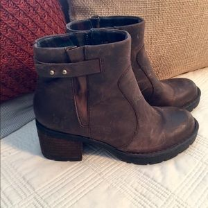 Born Distressed Booties